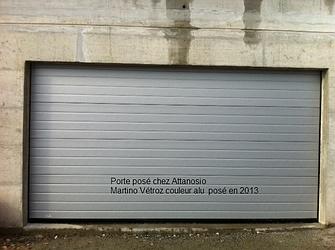 Automatec s rl porte de garage basculante conthey for Entretien porte de garage basculante